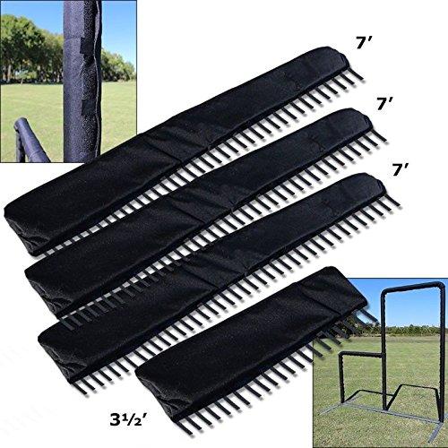 Jones-Sport Cimarron Frame Padding For L-Screen (3-7' Long Pieces and 1-3 1/2' Piece) by Jones-Sport