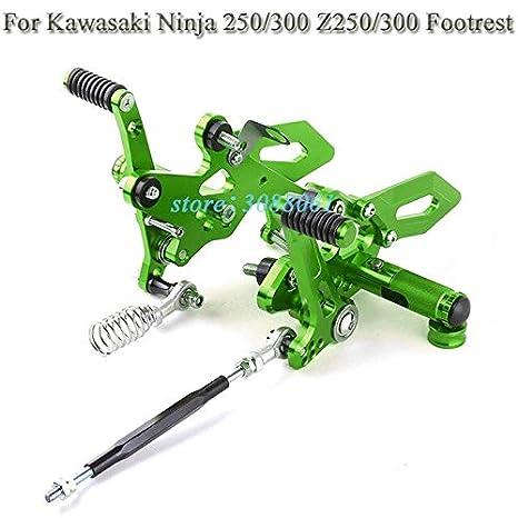 ShineBear Fittings CNC para Kawasaki Ninja 250 Ninja 300 ...