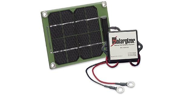 Amazon.com: 24-Volt Solargizer Model 150 Battery maintenance for all ...