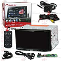 2016 Pioneer 2DIN Double DIN 7 Touchscreen Car DVD MP3 CD Player with Bluetooth Spotify Pandora Support + Wireless Remote & DCO Keyhole Waterproof Backup Camera with Nightvision (Optional Color)