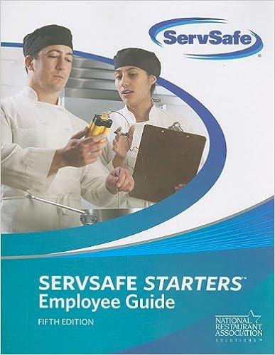 Servsafe Starters Employee Guide ServSafe 5th Edition