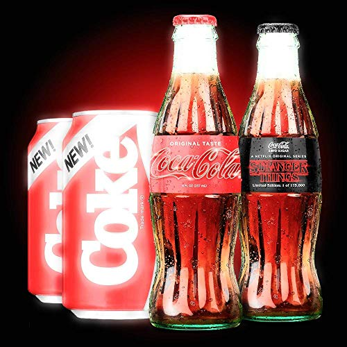 - New Coke and Stranger Things 1985 Limited Edition Collector's Pack, Limited Edition Set includes Exclusive Stranger Things Coca-Cola Bottles!