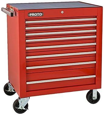 Proto J453441-8RD Rolling Cabinet 34u0026quot; x 25u0026quot; x 41u0026quot;  sc 1 st  Amazon.com & Amazon.com: Proto J453441-8RD Rolling Cabinet 34
