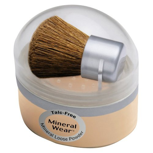 Physicians Formula Mineral Wear Talc-free Loose Powder, Buff Beige, 0.49-Ounces (Pack of (Talc Free Mineral Loose Powder)