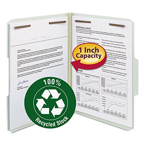 Smead Letter File Cabinet - Smead 15003 Recycled Pressboard Fastener Folders Letter 1