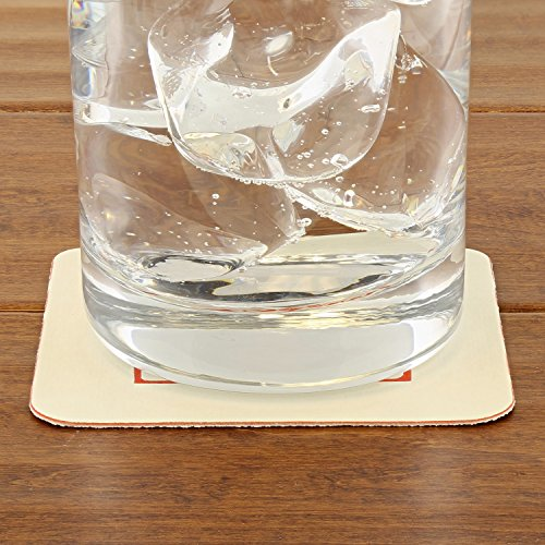 Royal 35 Point Beer Coasters, Square NRA Design, Package of 1000 by Royal (Image #1)