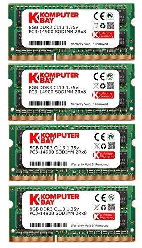 - Komputerbay 32GB (4x8GB) Apple Memory Upgrade for Late 2015 iMac 27