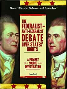anti federalist speech example The anti-federalist papers numerous independent local speeches and articles new york as an example #46.