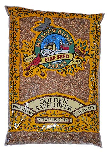 Meadow Ridge Farms Golden Safflower - 6 lbs by Meadow Ridge Farms