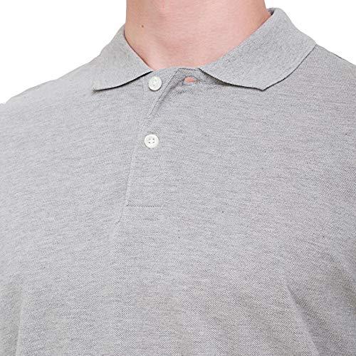 bossini Golf Polo Shirt, Essentials Regular-Fit Cotton Short Sleeve Performance