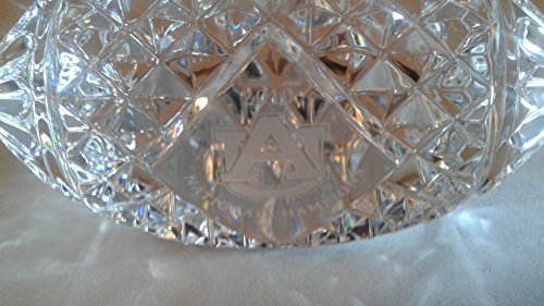 2010 Auburn Tigers National Champions Waterford Crystal Football paperweight