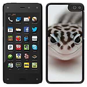 EJOY---Cubierta de la caja de protección la piel dura para el ** Amazon Fire Phone ** --Feliz Serpiente