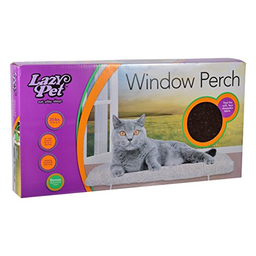 Deluxe Window Perch - LAZY PET Deluxe Cat Window Perch Assorted Colors