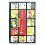 Ahmad Tea Twelve Teas Variety Gift Box, 60 Foil Enveloped Teabags