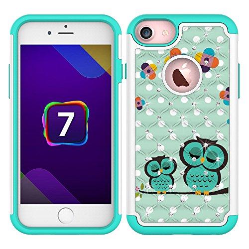 iPhone 7 Case, MagicSky [Shock Absorption] Stud...