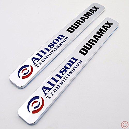 2x Allison Transmission Duramax Hood Emblem for GM Chevrolet Silverado 2500HD 3500HD 1000 2006-2013