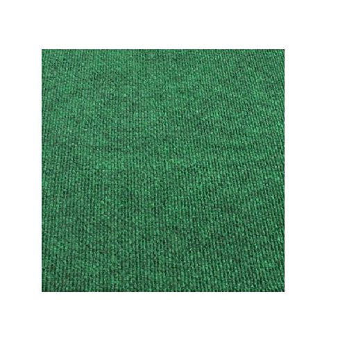 4'x6' Rectangle - BRIGHT IRISH GREEN - ECONOMY INDOOR/OUTDOOR CARPET Patio & Pool Area Rugs |Light Weight INDOOR/OUTDOOR Rug - EASY Maintenance - Just Hose Off & Dry! - 10 ()