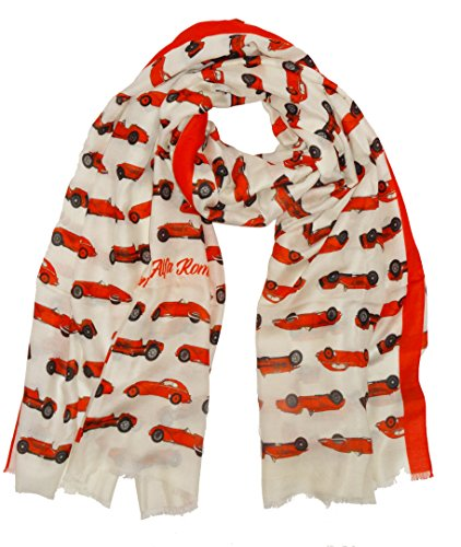 Alfa Romeo Scarf by NK Collections