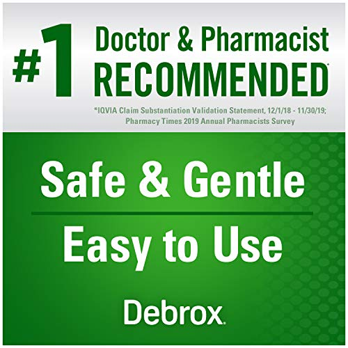 Debrox Earwax Removal Kit, Includes 0.5 oz Earwax Removal Drops and Ear Syringe Bulb