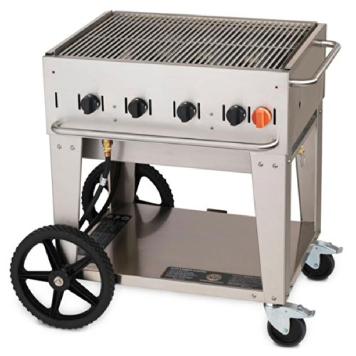Crown Verity MCB-30 Outdoor Charbroiler - Portable by Crown Verity