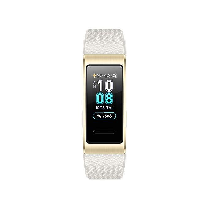 HUAWEI Band 3 Pro Doré - Bracelet Connecté (GPS, Ecran tactile, Rythme cardiaque, Résistance 5ATM, autonomie jusquà 14 jours): Amazon.fr: High-tech