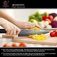 Compra YARENH Cuchillos de Cocina Profesionales 20cm - Cuchillos ...
