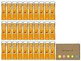 Uni NanoDia Color Mechanical Pencil Leads, 0.7mm, Orange, 30-pack/total 600 Leads, Sticky Notes Value Set