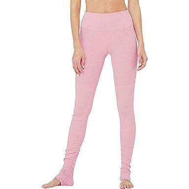 Amazon.com: Alo Yoga Womens High-Waist Alosoft Goddess ...