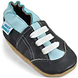 Soft Leather Toddler Shoes - Toddler Boy Shoes with Suede Soles