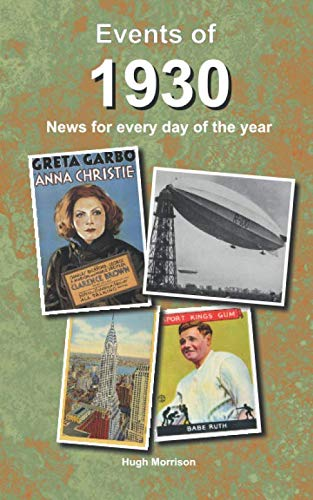 Events of 1930: news for every day of the year