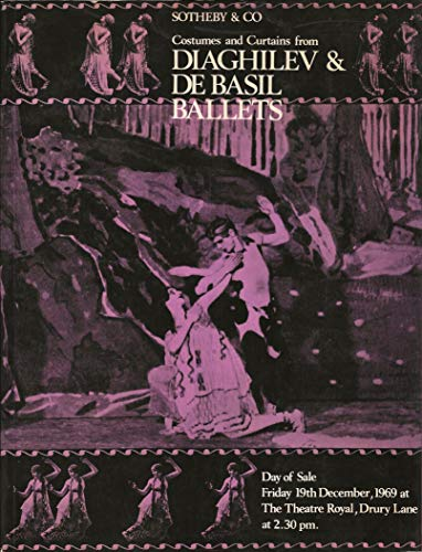 Catalogue of Costumes and Curtains from Diaghilev and de Basil Ballets: The Property of the Diaghilev and de Basil Ballet Foundation ()