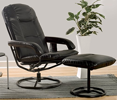 Comfort Products 60-0582 Leisure Recliner Chair with 10-Motor Massage & Heat, Black by Comfort Products (Image #5)'