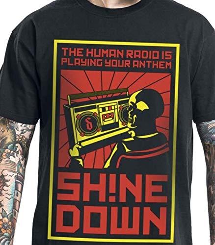 28d81727 Amazon.com: The human radio is playing your anthem Shinedown T-shirts,  Sweatshirts, Hoodies, Longsleeve: Handmade