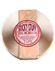 "Joe's Sticky Stuff 3/4"" X 65' Roll Aggressive Pressure Sensitive Adhesive Tape"