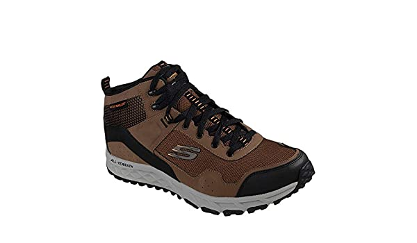 Skechers Men's Escape Plan Sly Goose Outdoor Shoes BrownBlack