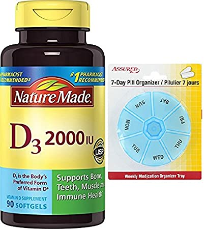 Naturaleza vitamina D 2000 U.I., D3, perlas líquidas, 90-Conde con gratis