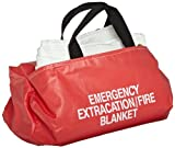 Sellstrom Manufacturing Emergency Fire Blanket in a Bag, 5' x 6'