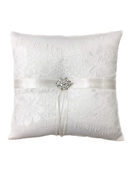 5ab959106 Image Unavailable. Image not available for. Color: Toshine Wedding Ring  Bearer Pillow ...