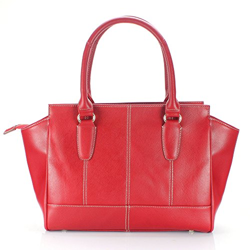 Leather Top Handbag Handle cr 141340 Genuine aretha Satchel Cowhide UIfqwERx7