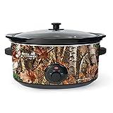 camo cooker - Nesco 8-quart Woodland Birch Slow Cooker; Camouflage Sc-8017