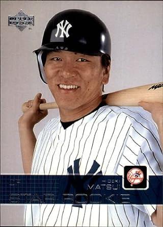 Amazoncom 2003 Upper Deck Baseball Rookie Card 501 Hideki