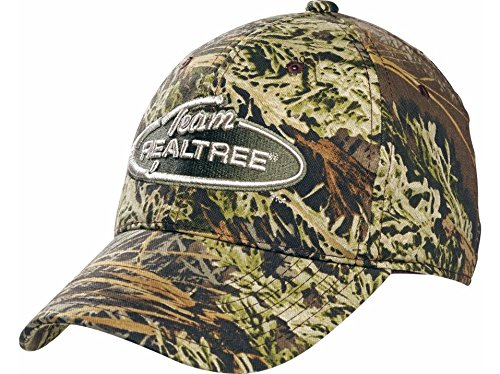 Team Realtree Camo (CAMO CAP WITH REALTREE'S MAX 1 PATTERN with Team Realtree Patch on Front)