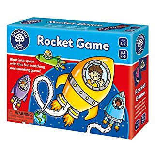 Orchard Toys Rocket Game - Fun and Educational Counting Game for 4-7 Year olds - Perfect for Home Learning, Multi