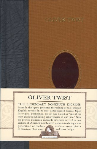 Book cover for Oliver Twist