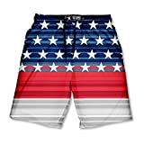 Lacrosse Unlimited Liberty Boys Lacrosse Shorts with Deep Side Pockets and Elastic Waistband-Youth-Small