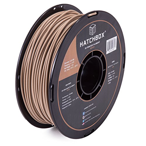 HATCHBOX WOOD 1KG3 00 Filament Dimensional Accuracy product image