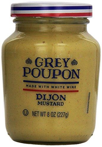 Grey Poupon Dijon Mustard, 8 ounce Jar