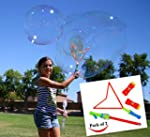 Joyin Toy 2 Pack Big Bubble Wand Maki...