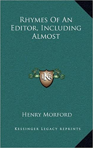 Book Rhymes of an Editor, Including Almost