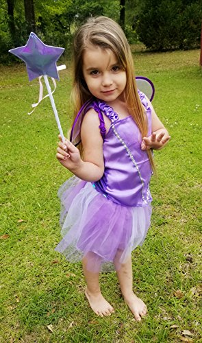 4b51b455a35e2 Toiijoy Girls Dress up Costume Set Princess,Fairy,Mermaid,Bride,Pop Star